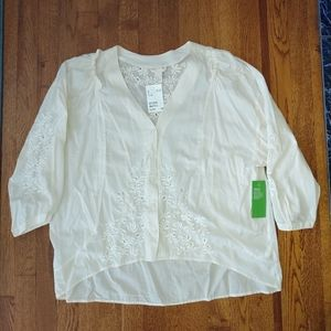 H&M Organic Cotton Blouse